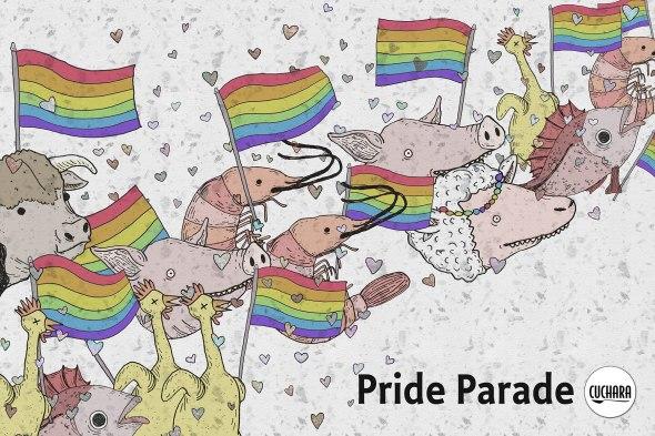 cuchara pride parade