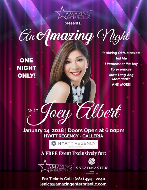 Joey Albert Poster
